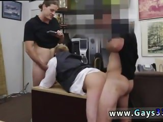 Straight guy caught sucking cock gay Groom To Be, Gets Anal Banged!