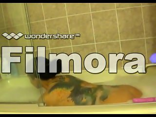 Vera Snow: Private bathroom sex tape