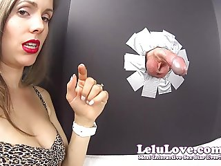 Lelu Love-Gloryhole Blowjob Cumshot In YOUR Face