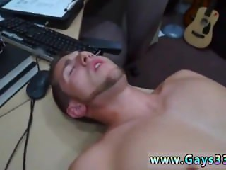 College jocks bang gay full length Guy finishes up with assfuck hump