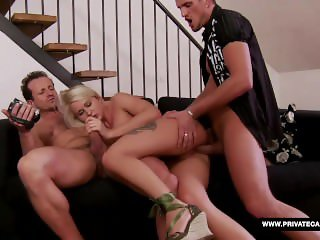 Joyce Has a Casting Audition Including a Threesome Fuck Session