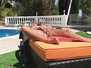 Linda playing with her clit