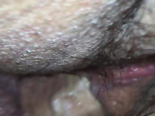 Wife anal close up