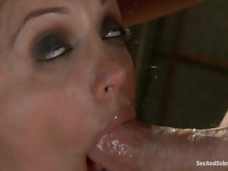 BDSM Francesca le bondage, punished and rough sex anal