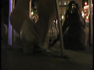 Hot Hosed Tease At Night 3