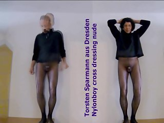 Athina amp henessy in pantyhose