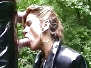 I.M. 1991 Private Whore Traudl learns facefuck technics