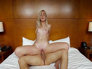 super pretty 18y girl gets fucked