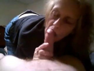 Grandma blowjob and cum