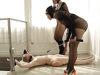mimosa1 mistresses with their beautiful les slave