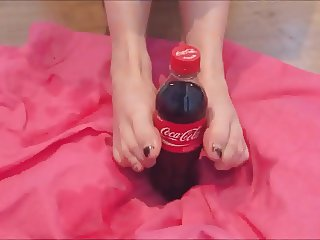 My new Coke advert (foot fetish)