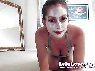 Lelu Love-WEBCAM: Facial Mask Dancing Vibrator Masturbation