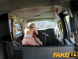 Fake Taxi Backseat fuck for free cab ride