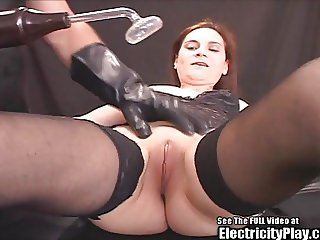 Cheating Whore BDSM Electricity Punished and Creampied