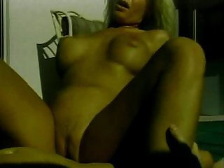 Oldschool porn with a blonde