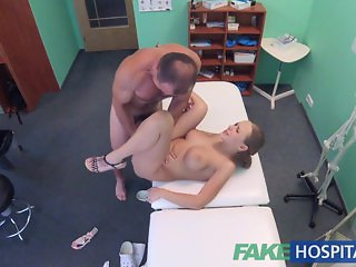 FakeHospital Fast fucking with patient after earthquake ignites sexual lust