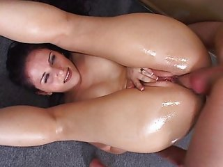 Nothing is hotter than an oily ass