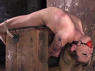 Dahlia Sky Submits to Torment in Punishing Bondage