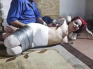 taped up