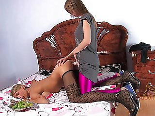 Pink Surprise. Part 2 of 4. A Hot Blonde Comes Home To Find