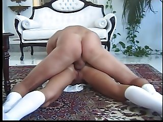 Anal blond bitch getting fucked