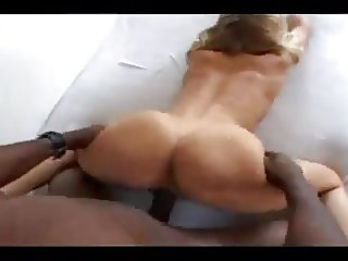 Blonde Screams on BBC Doggystyle