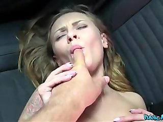 Public Agent - Blonde Fucked In Car (HUUU)