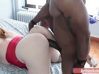 Destroying Her Fat White Pussy While My Buddy Films