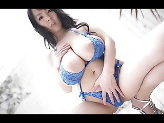 Mesmerizing Asian with Enormous Tits