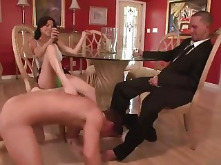 WIFE INTRODUCING HER LOVER TO HER HUSBAND
