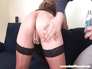 I am Pierced marina with 15 pussy rings anal sex