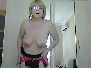 Old mature lady