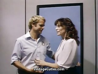 Hot MILF Kay and Her New Lover (1970s Vintage)