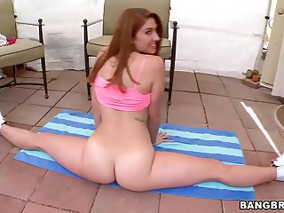 Redhead With A Big Ass Anal Banged