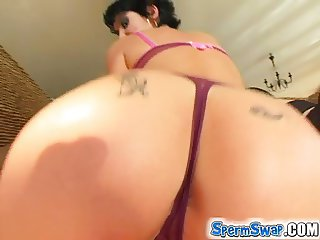 Sperm Swap Ass drilling comes hard for these easy girls