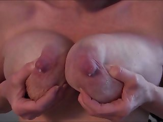 See the yummy milk dripping