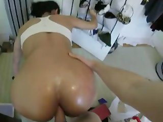 She's got a great ass and likes it fucked at Home