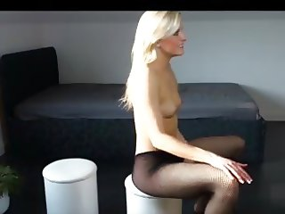 Blonde Awesome Teen wants anal hard fucking