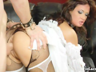 Horny mature sluts fuck with a bunch of horny dudes