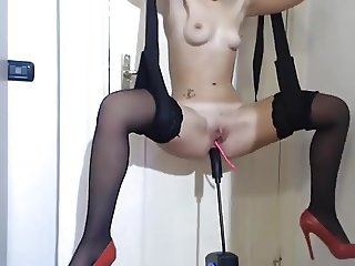 Jenna princess! Blowjob toy and fuck pussy on webcam!