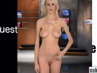 Skyler - Naked News Audition