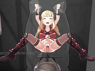 MMD - Cagliostro Jail Sex (Granblue Fantasy)