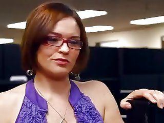 Office Sex With Sexxxy Milf
