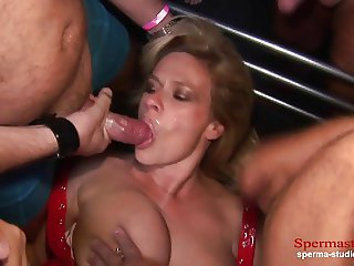 Multiple Cumshots Orgy - Marina Part 1 ---------------