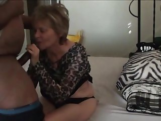 Granny gives awesome head