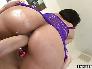 Big ass Reena Sky gets stuffed with huge cock