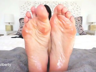 Oily Soles Humiliation by Stella Liberty