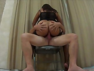 Latina on a Chair Anal
