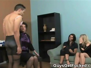 Guy gets sissification punishment