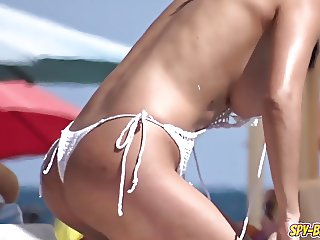 Horny Topless Amateur Voyeur Sexy Teens - Spy Beach HD Video